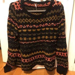 Free People multi colored Sweater